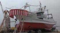 BD11「おいしい山形応援プロジェクト」【(※令和元年10月21日開催予定)試験調査船「最上丸」竣工式での体験乗船ペアチケット】