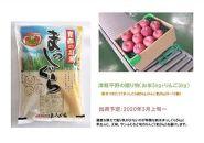 【2020年3月発送】津軽平野の贈り物(お米5kg+りんご3kg)