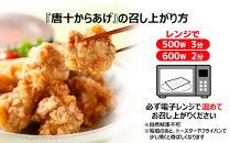 KJ11-10冷凍『唐十からあげ(1.26kg)』・地どりめしの素(4合分)