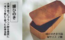媛ひのき弁当箱Mサイズ2個