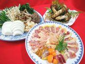 地鳥熟成シャモすき焼きと特上松茸セット 2~3人前(焼き松茸用柚子しょうゆ付)