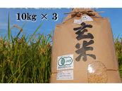 【全3回】JASオーガニック玄米10kg 定期コース