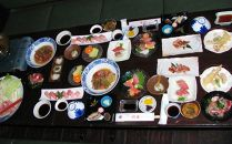 MJ003 ペア宿泊券+室戸A級食材「金目鯛フルコース」