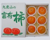 【厳選・産直】九度山町の富有柿3Lサイズ6個入り[2020年10月~発送]