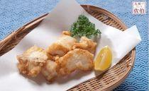 ふぐ養殖漁師が調理「豊後極みふぐ・とらふぐから揚げ用(生姜にんにく醤油味)」