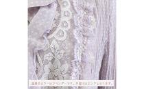 【13号】フリル衿リバーレースプリーツジャケット【ピンク】