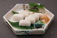 日本料理一乃松の「えんがわ寿司」