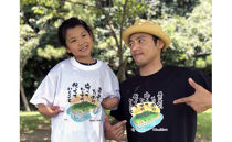 「神宿る島」沖ノ島オリジナルTシャツ(S~LL/白・黒)
