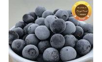 冷凍無農薬ブルーベリー1.2㎏(フリープフルーツ)