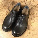 木型から作るオーダーシューズ紐靴(外羽根)茶色