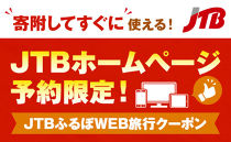 【半田市】JTBふるぽWEB旅行クーポン(30,000点分)