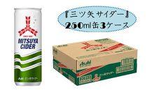 爽快感炭酸飲料『三ツ矢サイダー』250ml缶3ケース