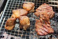 国産牛リブロースサイコロステーキ(500g)・東松島市牛タン(450g)セット