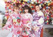 京都 さがの館四条本店・清水高台寺店 着物で過ごす京の旅 体験プラン③レンタル着物+ヘアセット+記念写真