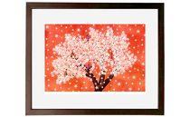 インテリアアート「桜」