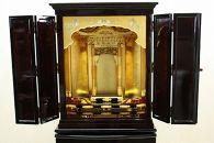 金仏壇上置伝統工芸品彦根仏壇
