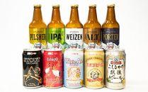 クラフトビール飲み比べセット(350ml×5缶、330ml×5本)