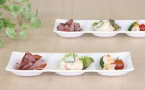 【数量限定】 コワケ三つ仕切り皿4枚セット