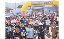 紀州口熊野マラソン参加権(1名)