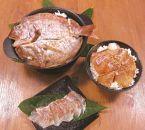 いとしま「天然真鯛」プレミアムセット(天然真鯛鯛茶漬け・天然真鯛昆布締め・天然真鯛めし)