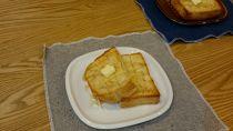 トーストさくさくパン皿小枝2枚セット