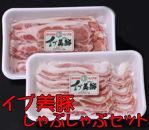 イノブタ「イブ美豚」しゃぶしゃぶセット16-J【和歌山ブランド】