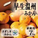 ◆発送は12月より◆瀬戸内さぎしまの早生温州<家庭用約7kg>