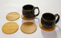 木製いろいろコースター5枚組