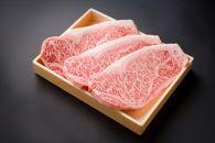 豊後牛サーロインステーキ【約180g×3枚】