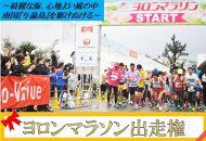 ヨロンマラソン出場権 限定1名!!ゼッケンNO4444(女子ハーフ)+非売品グッズ