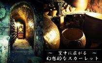 信楽焼陶灯り(つくばい型)
