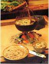 霊峰月山の麓・老舗山菜料理「出羽屋」の年越し山菜そば