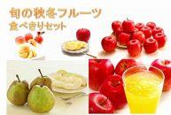【2020年度産先行受付】旬の秋冬フルーツ食べ切りセット年5回コース