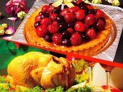★クリスマス限定!★ケーキ&チキンセット「ベリータルト&丸ごとチキン」