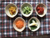 【アイボリーシリーズ】たわみ豆小鉢5個セット