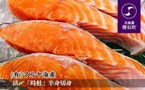 【活〆】「時鮭」半身切身【2020年5月より発送】