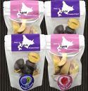 余市の砂川果樹園が贈る、完熟果物のフリーズドライ 4点