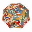日傘(百年の鶴・鼠橙)/トートバッグ染め体験