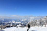 西日本最大級のビッグゲレンデスキージャム勝山 2019-2020小学生用リフト1日券(ランチ券付き)