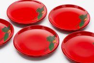 【伝統工芸品の老舗 琉球漆器】ゴーヤー柄「銘々皿」