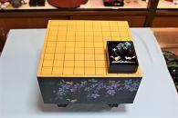 <一点物>【伝統工芸品の老舗 琉球漆器】螺鈿(らでん)装飾の「将棋盤」