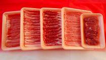 秋田県産鹿角ポーク5種部位食べ比べ1kgセット(ヒレ・ロース・肩ロース・バラ・モモ各200g)