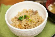 炊飯器にいれるだけで完成!【ばい貝ごはんの素と特別栽培米2kgのセット】