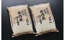 《1月中旬以降お届け》令和元年産 庄内米 特別栽培米はえぬき 10kgJM<JA庄内みどり>