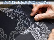 【本場奄美大島紬】7マルキ単色で楽しむ和装コーディネート