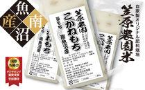 【豆もち】自家製肥料栽培こがね餅米100%使用南魚沼産生切りもち