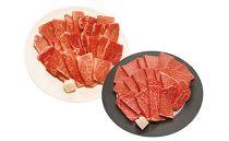 ≪ポイント交換専用≫ 伊予牛絹の味(A4,A5)焼肉用ロース500g、カルビ・モモ500g[焼肉のたれ付き](冷凍)