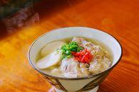 【極上】沖縄そば老舗店「そば処きくや」 軟骨ソーキそばセット(3食)