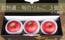 超特選・旬のりんご3個入