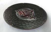 鎌倉彫葡萄文飾り皿